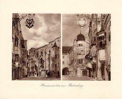 Strassenmotive Aus Rattenberg - Kupfertiefdruck Ca 1910-20 - Drucke
