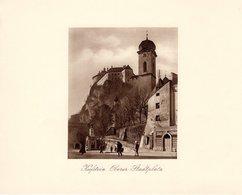 Kufstein Oberer Stadtplatz - Kupfertiefdruck Ca 1910-20 - Drucke
