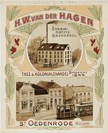 @@@ MAGNET - H.W. Van De Hagen Thee & Kolonialehandel St. Oedenrode - Pubblicitari