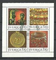 SCHWEDEN Sweden 1995 Michel 1906 - 1909 Bronzezeit O - Archaeology