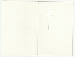 Doodsprentje E.P. Emiel Van Eynde ( Pater Mil)  Werkend In Kunduri-India Geboren Maldegem 1910 Overleden India 1980 - Devotion Images