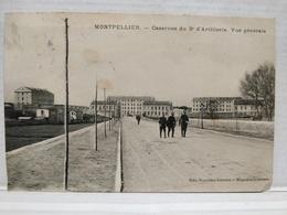 Montpellier. Casernes Du 3éme D'Artillerie. Vue Générale. Animée - Montpellier