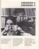 AD035 - Original Bedienungsanleitung Manual Polaroid Swinger & Swinger II - Alte Papiere