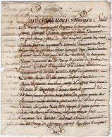 VP13.326 - CHAMPDENIERS -  Acte De 1792  Concernant Mrs GUERIN à SAINT - MAIXENT & CHERVEUX - Manuscripts