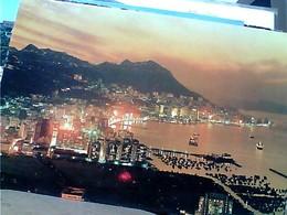 HONG KONG CAUSEWAY BAY OVERLOOKING Typhoon Shelter And Yacht Club ... STAMP SELO TIMBRE FLOWER 65 C 1969 GX5474 - Cina (Hong Kong)