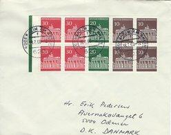 Germany - Cover Sent To Denmark  1968.   H-1392 - [7] République Fédérale