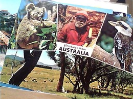 Australia Aborigeno Koala  Uccello Bird   STAMP SELO TIMBRE 7c Humbug Fish 1969 GX5475 - Aborigeni