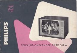 AD041 - Original Bedienungsanleitung Manual Philips TV 23TX302A, Nederlands - Alte Papiere