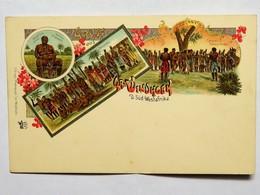 C.P.A. : NAMIBIA : Gruss Aus WINDHOEK, D. Süd-Westafrika - Namibie