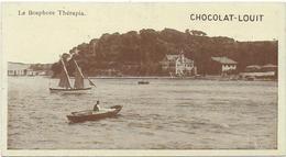 CPA - TURQUIE - CHOCOLAT LOUIT - LE BOSPHORE THERAPIA - CARTE 7 CM X 13 CM - Turquie