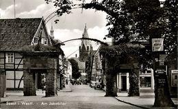 SOEST I. Westfalen, Am Jakobitor (1950s) AK - Soest