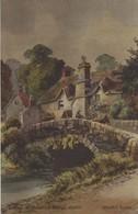 Cottage At Heavitree Bridge, Exeter Devon Postcards, Worth's Series Circa 1900 - 1910. - Exeter