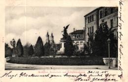 Kempten, Realschule Und Kriegerdenkmal, 1905 - Kempten