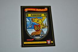 Blason Adhesif    Plouescat - Other