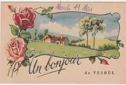 """CPA """"Un Bonjour De Vesoul"""" 70 Haute-Saône - Vesoul"""