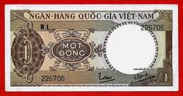 ** SUD VIET-NAM - 1 DONG Non Daté ( 1964 ) Série W 1 AU/NC ** - Vietnam