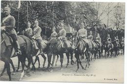 55 Metz - Défilé Des Dragons Allemands -(Hannoversches Regt N° 9) - Années 1900s- En Excellent état - Metz
