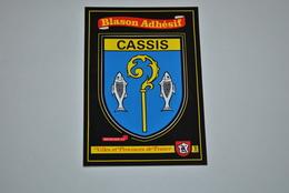 Blason Adhésif   Cassis - Postcards