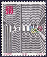 MEXICO - EMBLEM  OLYMPIC - **MNH - 1968 - Summer 1968: Mexico City