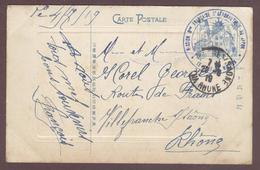 Franchise Militaire * Mission Militaire Française D' Aéronautique Au Japon  - Le Chef De Mission * 1914 - 1919 * - Marcophilie (Lettres)
