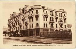 7970 01 MOROCCO CASABLANCA IMMEUBLE SOBLANCA RUE R. MONOD - Casablanca