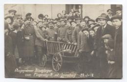 GD DU LUXEMBOURG - LUXEMBOURG - RAID AERIEN DU 24/01/1918 - BELLE CARTE PHOTO - VOIR ZOOM - Luxemburg - Town