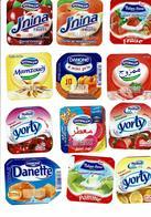 42 Algerian Multi Colour Yogurt Cover - Autres Collections