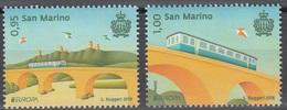 2018 - SAN MARINO - EUROPA  CEPT - PONTI / BRIDGES. MNH. - 2018