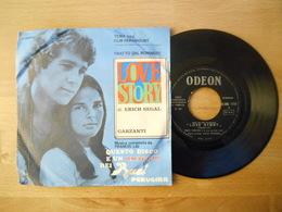 Erich Segal - Love Story - 45 Rpm - Maxi-Single