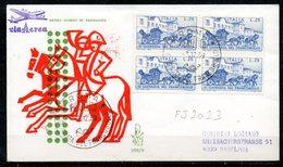 FJ8023 : Italie FDC Journée Du Timbre 1969 - 6. 1946-.. Republik