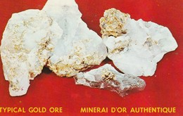 Malartic Hygrade Gold Mines Ltd., Val D'or, Quebec  Mineral D'Or Authentique - Quebec