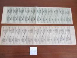COLIS POSTAUX PARIS POUR PARIS N°6/7 EN FEUILLE DE 22ex. NEUF(*) COTE 308 EUROS - Colis Postaux