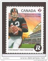 CANADA. 2014, 2755i)  REDBLACKS New Team  OTTAWA . DIE CUT FROM QUATERLY PACK From Bklet - Carnets