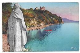 Statue De Lamartine - Lac Du Bourget, 1952 - France