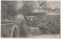 CPA 94 SAINT MAURICE Restaurant Et Pont De L' Ecluse - Saint Maurice