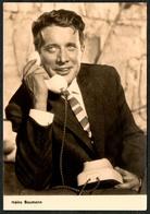 B9027 - Heinz Baumann - Starfoto - Autogrammkarte - Progress Film Vertrieb - Autogramme & Autographen