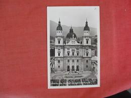 RPPC Salzburg Cathedral  Ref 3072 - Austria
