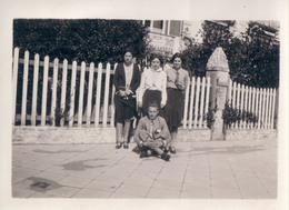 Foto Photo (6,5 X 9cm) Knokke Knocke 1930 - Knokke