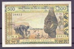 West African States A Ivory Coast  Cote D'ivoire - Banknotes