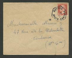 31 - HAUTE GARONNE / Recette Auxilliaire Rurale ROQUES / 30c Pasteur - Marcophilie (Lettres)