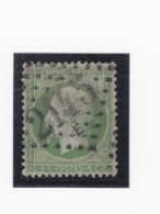 N° 20   GC 2145 E  LYON LA GUILLOTIERE  /  RHONE  - REF 24-24 - 1862 Napoléon III