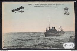 1520 AV73 AK PC CPA LATHAM SUR SON MONOPLAN ANTOINETTE NC TTB - ....-1914: Precursori