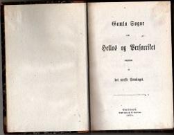 HELLAS Og PERSARRISTET - 1870 Bound 12Χ18 Cent. 180 Pages - SWEEDISH - Libros, Revistas, Cómics