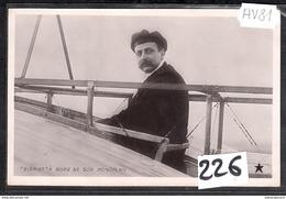 3542 AV81 AK PC CARTE PHOTO 226 BLERIOT A BORD DE SON MONOPLAN NC TTB - ....-1914: Precursori