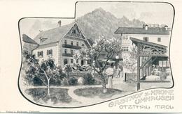 Gasthof Z. Krone Ötzthal Tirol  Pinx Reisch - Oetz