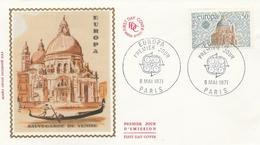 PARIS - FDC 1971   EUROPA SAUVEGARDE DE VENISE  Sur YT 1676 - FDC
