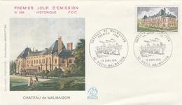 RUEIL MALMAISON (92) - FDC 1976 - CHATEAU DE MALMAISON - FDC