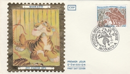 MONACO - FDC 1974 - 1er Festival International Du Cirque - FDC