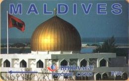 Maldives - GPT, Mosque, 164MLDC, 2/00, Used - Maldiven