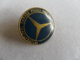 PIN'S / MERCEDES / INTERNATIONAL GARAGE PUGET SUR ARGENS - Pin's